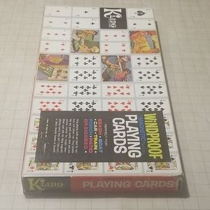 Vintage Kling Magnetic Playing Cards